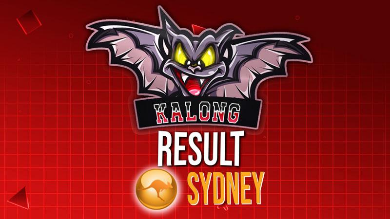 Result Sydney