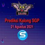 Prediksi Kalong SGP 21 Agustus 2021