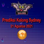 Prediksi Kalong Sydney 21 Agustus 2021