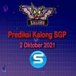 kalong sgp 2 oktober 2021