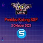 kalong sgp 3 oktober 2021