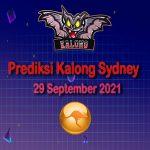 kalong sydney 29 september 2021