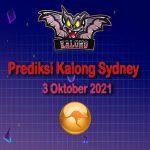 kalong sydney 3 oktober 2021