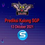 kalong sgp 13 oktober 2021