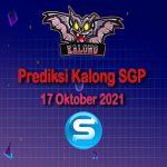 kalong sgp 17 oktober 2021