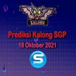 kalong sgp 18 oktober 2021