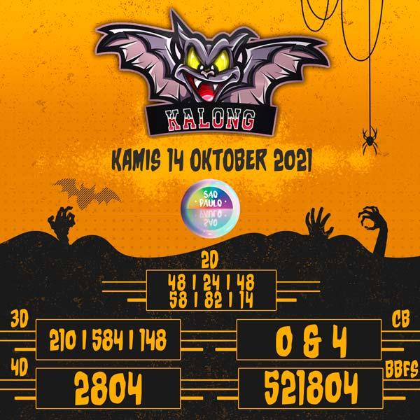prediksi kalong sao paulo 14 oktober 2021